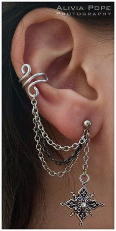 Nice inspiration for your ear piercings! Enjoy!