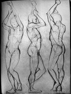 Life drawing studies by Rahimi001