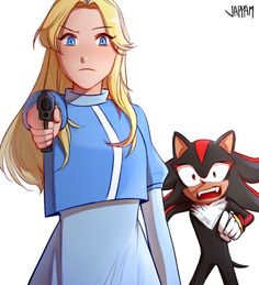 Shadow The Hedgehog, Sonic The Hedgehog, Sonic Fan Characters, Girls Characters, Shadow And Maria, Sonic And Shadow, Black Artwork, Sonic Boom, Epic Games