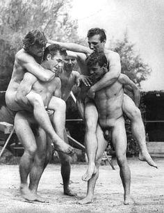 Vintage gay naked lads images
