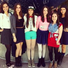Katherine Christina Lauren Amy dani and lisa