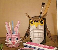 Vintage Clothespin Crafting Book Project (ETSY Item that has been sold)