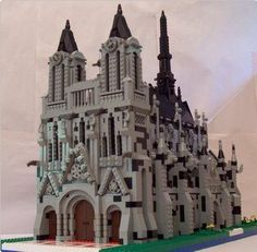36 best Architecture lego structures and models images on Pinterest     LEGO looks a little like Notre Dame de Paris