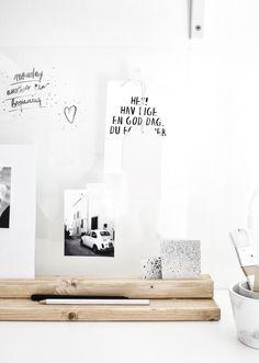 Passion Shake | Hello September and DIY Desk Organizer | http://passionshake.com