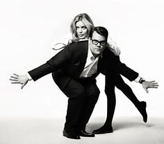 James Corden and Georgia May Jagger recreate the chemistry of Peter Sellers and Britt Ekland