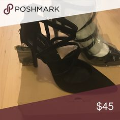 Sexy strapped heels - These are super cute but my ankles are way too skinny for them 😔 Zara Shoes Heels