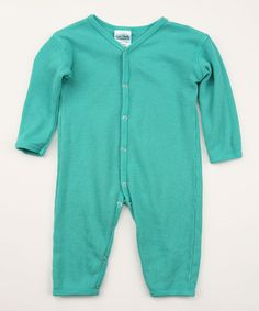 Take a look at this Horizon Blue Thermal Organic Playsuit by Luca Charles  on  zulily. Baby ... 25289a6fe
