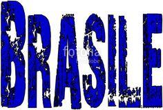 """""""Brazil Text sign in Italian"""" creato da morgan capasso"""