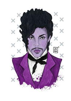 Purple Soul* #RIPPrince www.janafak.bigcartel.con