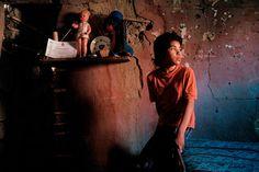 Magnum PhotosDavid Alan Harvey CHILE. Atacama Desert. Girl at home