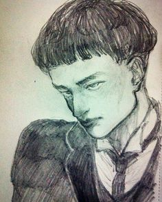 Drawing in @nbublitz 's sketchbook hahahah  Fantastic Beasts and Where to Find Them - credence  #fantasticbeasts #credencebarebone #drawing #traditionalart #sketch  #diuryarts