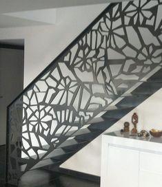 Scari interioare moderne - Traforate.ro Minimalism, Stairs, Interior, Cnc, Design, Home Decor, Ladders, Indoor, Interieur