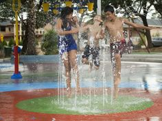 New splash park open