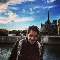 Mr. Handsome, Roger Federer