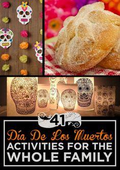 40 Día De Los Muertos Activities For The Whole Family