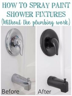 DIY Remodeling Hacks - Spray Paint Shower Fixtures - Quick and Easy Home Repair .DIY Remodeling Hacks - Spray Paint Shower Fixtures - Quick and Easy Home Repair Tips and Tricks - Cool Hacks for DIY Home Improvement Ideas - Cheap Wa.