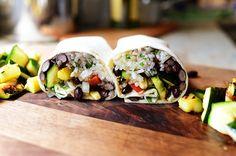 Grilled Veggie Burritos