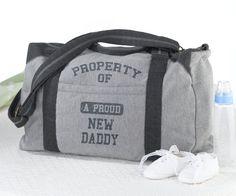 Athletic Daddy Diaper Bag Duffel Bag