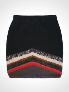 Fair Trade Knit Skirt by Here Today Here Tomorrow Made in Nepal Collection | HERE TODAY HERE TOMORROW