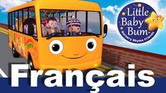 Les roues de l'autobus | Partie 5 | Comptines | LittleBabyBum! - YouTube Nursery Rhymes, Little Babies, Baby, Wheels, Butterflies, Preschool, Baby Humor, Infant, Babies