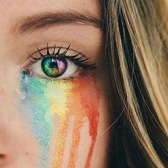34 Ideas For Eye Photography Rainbow Eye Photography, Creative Photography, Photography Business, Rainbow Photography, Photography Magazine, Photography Aesthetic, Photography Lighting, Photography Equipment, Outdoor Photography