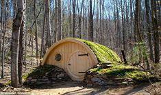 Casas inspiradas nos Hobbits de J R R Tolkien