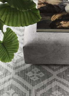 &Ex seating elements - colour stone. Photography: Alexander van Berge Styling: Bregje Nix.
