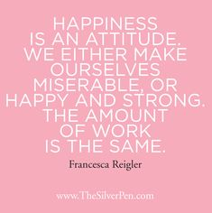 Hollye Jacobs, Breast Cancer Survivor - Quotes & Inspiration - Happiness is an Attitude April 7