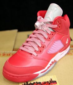 Air Jordan V GS Strawberry (2013).  I got These and were a surprise from my son and hubby to me yay!