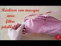 Coudre son masque avec filtre jetable - Patron PDF gratuit- Coin Couture, Couture Sewing, Youtube Banner Backgrounds, Youtube Logo, Youtube Youtube, Creation Couture, Diy Mask, Beret, Sewing Patterns