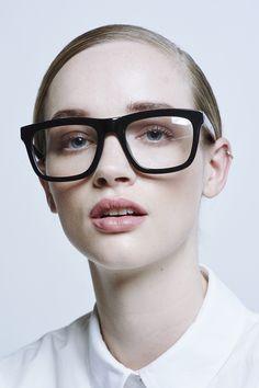 Deep Freeze Black Clear Lens - All Eyewear Collections   Karen Walker