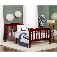 Dream On Me Classic Design Toddler Bed, (Your Choice in Color) - Walmart.com