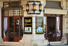 TRIESTE-CAFFE-CATTARUZZA_Bar Cattaruzza is a historical bar in Trieste, a stone's throw from Molo Audace