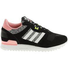 b63ea7175301 adidas Originals ZX 700 W Femmes Baskets Pour Chaussures De Sport noir neuf  750