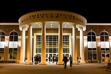 Neoclassical architecture - The Keating Millennium Centre at St. Francis Xavier University, Canada, completed in Neoclassical Architecture, Ceiling Lights, Mansions, Francis Xavier, St Francis, House Styles, Centre, Xavier University, Exhibitions