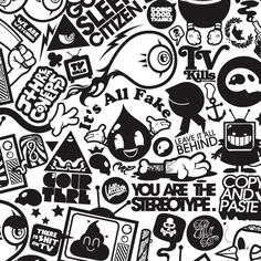 TV Kills Everything by Jared Nickerson, via Behance If your hand is holding you back. cut it off Anti-TV message Graffiti Doodles, Graffiti Lettering, Graffiti Art, Doodle Wall, Free Adult Coloring, Graffiti Characters, Tattoo Flash Art, Mural Art, Fantastic Art