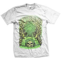A Day To Remember Bear Skull T-Shirt
