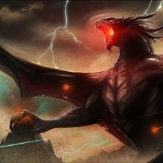 Vampire dragons usually tend to stay in dark areas, like the Shadow Monsters. These species of dragons are a branch of the Electric dragons. Unlike their name, Vampire dragons do not live off of blood. There energy force is lightning, so they also prefer to live in areas with common storms.