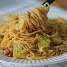 Another Wafu (Japanese Style) Pasta recipe is here~! Today, let's make Miso Butter Noodles with spaghetti! Miso and butter can be sounds a bit odd but it tastes SO GOOD together! Chicken Salad Recipes, Tofu Recipes, Asian Recipes, Vegetarian Recipes, Cooking Recipes, Riblets Recipe, Bulgogi Recipe, Spaghetti Noodles, Spaghetti Recipes
