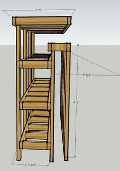 Lumber and Plywood storage. Woodworking Lumber Near Me