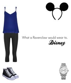 """What a Ravenclaw would wear to Disney"" by lunalynch13 on Polyvore featuring NIKE, River Island and Calvin Klein"