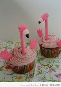 Look for Celina's flamingo party!
