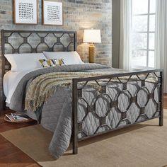 Leavitt Metal Panel Bed