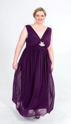 Bridesmaid Dress fuller figure