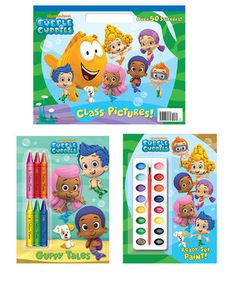 Love this Bubble Guppies Art & Paperback Set by Bubble Guppies on #zulily! #zulilyfinds