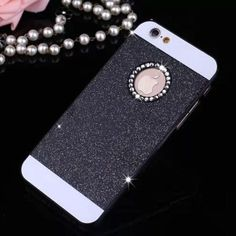 Hot Sale Show brand power wonderful colors bling hard plastic back cover phone case for iphone 5 5s PT1728