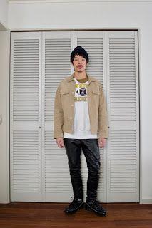 Y's Wardrobe: [champion BEAMS supreme]久しぶりにプリントスウェット、着てみない?