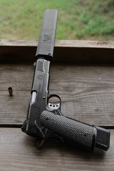 Springfield Armory 1911 with Osprey suppressor Revolver, 1911 Pistol, Weapons Guns, Guns And Ammo, Colt M1911, Springfield 1911, Springfield Operator, Rifles, Fire Powers