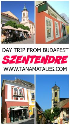 Things to do in Budapest, Hungary – Szentendre, a charming town located on the banks of the Danube River, is the perfect day trip from Budapest. Travel Info, Europe Travel Tips, Spain Travel, European Travel, Travel Guides, Solo Travel, Travel Usa, Budapest Travel, Hungary Travel