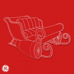 Engineer humor for Christmas: Let's face it. Some sleighs just require a little more power than others.